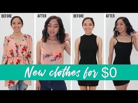Transforming Old Clothes In My Closet | Coolirpa