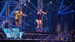 Team Ninja Warrior Germany |  2. LAUF - Nastassja Böcher vs. Jastine-Marie Hammer