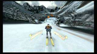 CGR Undertow - WINTER SPORTS 3: THE GREAT TOURNAMENT for Nintendo Wii Video Game Review