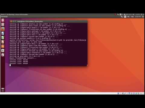 how to install gnuradio on ubuntu 17 04 - YouTube