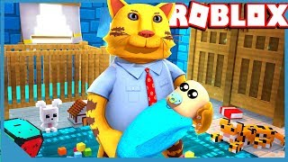 ADOPTING A BABY - ROBLOX ADOPT ME ROLEPLAY