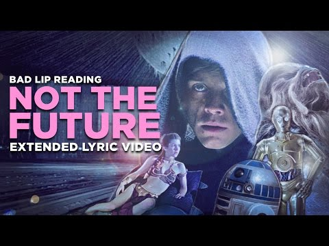 'NOT THE FUTURE' -- Extended Lyric Video