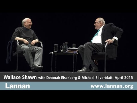 Wallace Shawn, Conversation, 15 April 2015