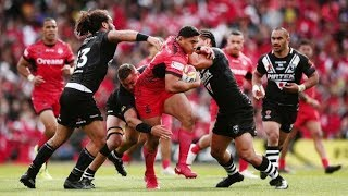 Kiwis Vs Mate Ma'a Tonga | RLWC 2017 Highlights