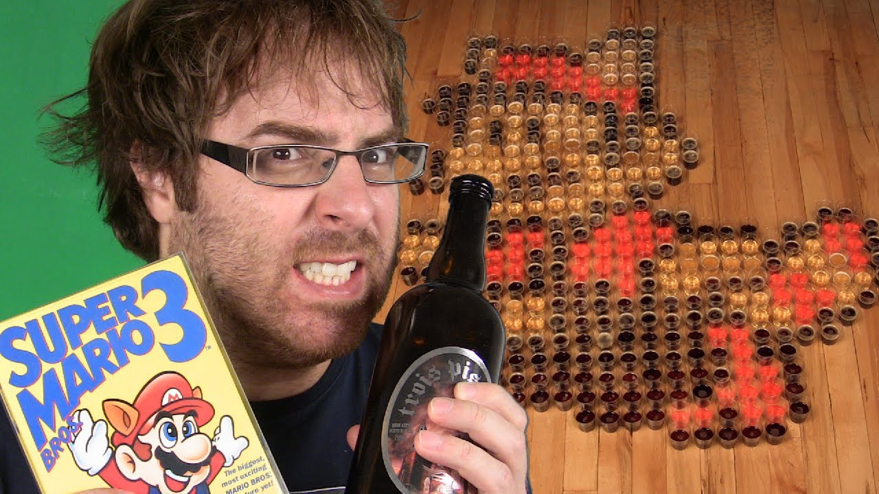 Pixel Art: Super Mario Beers - GuizDP - YouTube