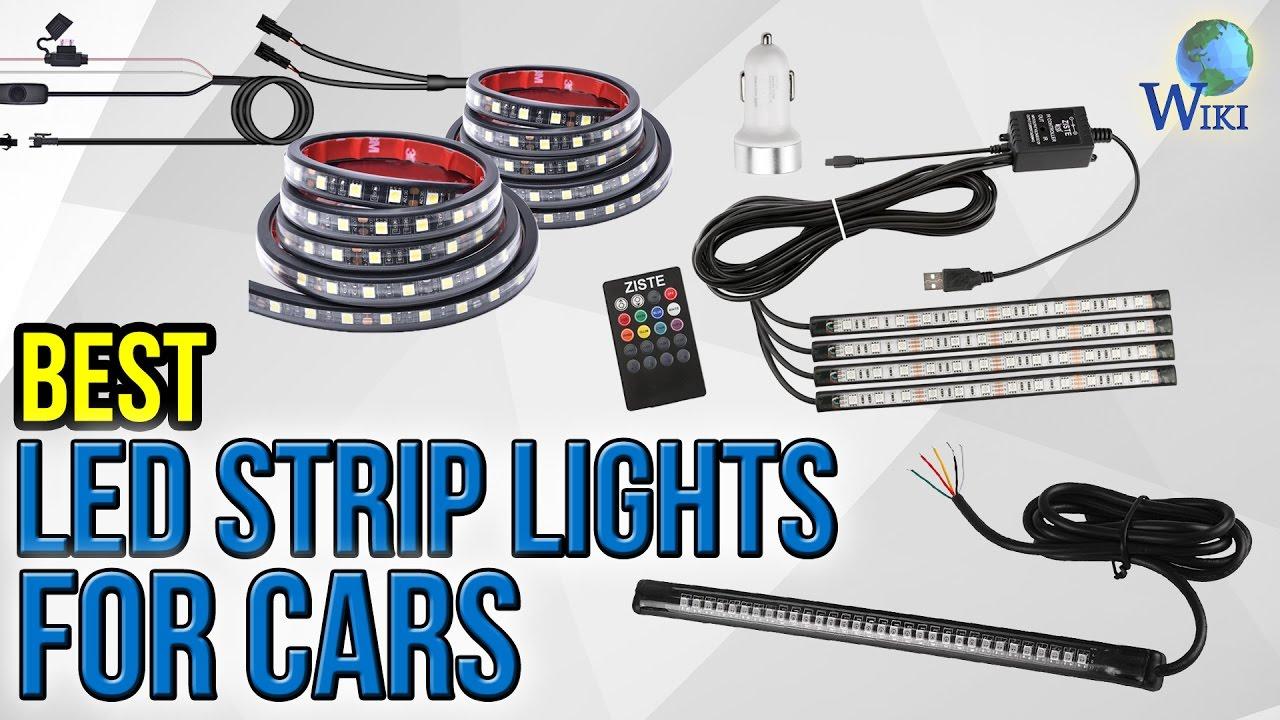 10 Best LED Strip Lights For Cars 2017