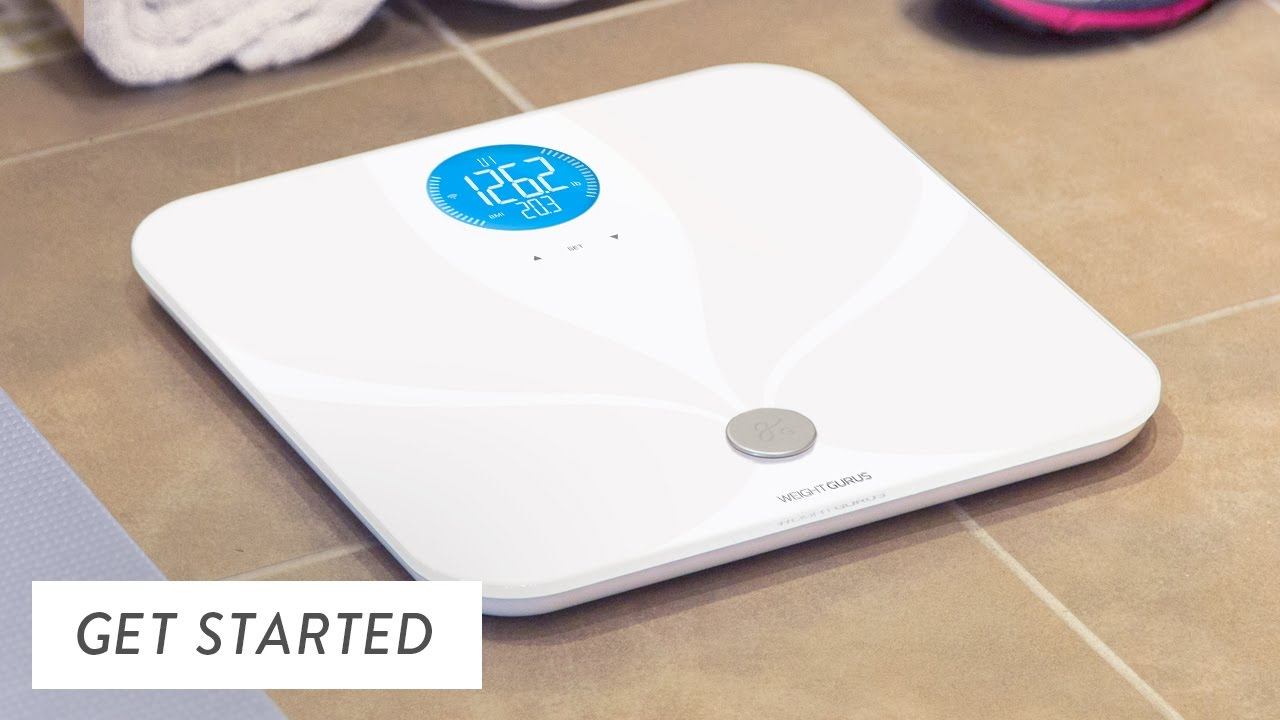 Weight Gurus Wi Fi Smart Scale 0396 Getting Started