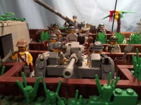 "lego ww2 Moc ""battle of the bunker"" - YouTube"