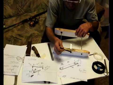 изготовление корабликов для ловли хариуса