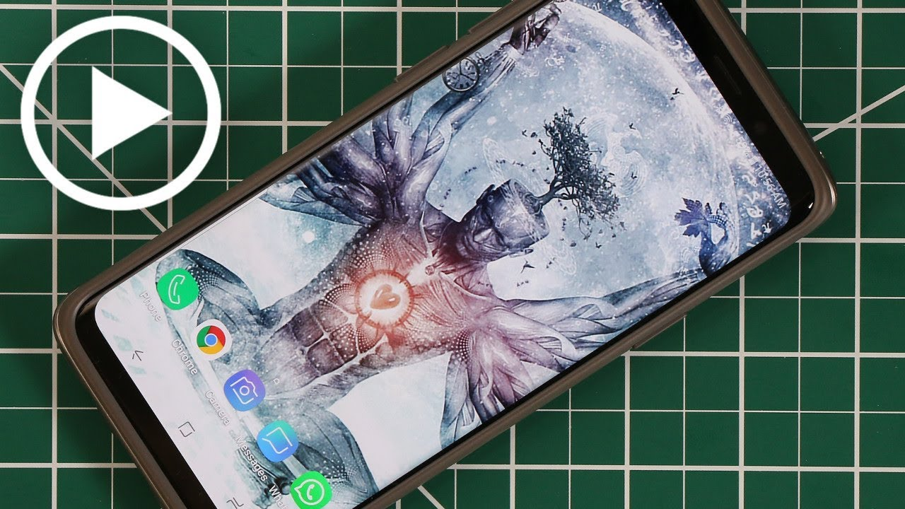 Customize Your Samsung Galaxy S9 W Amazing Video Wallpapers Youtube