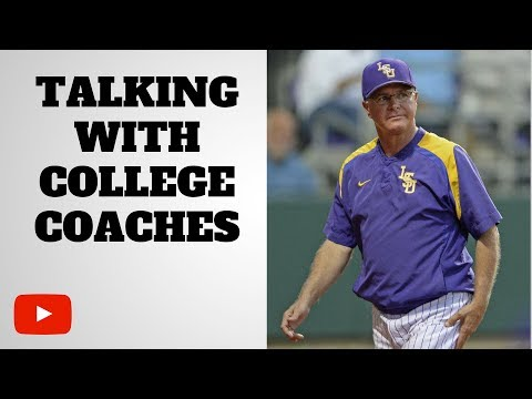 Communicating With College Coaches