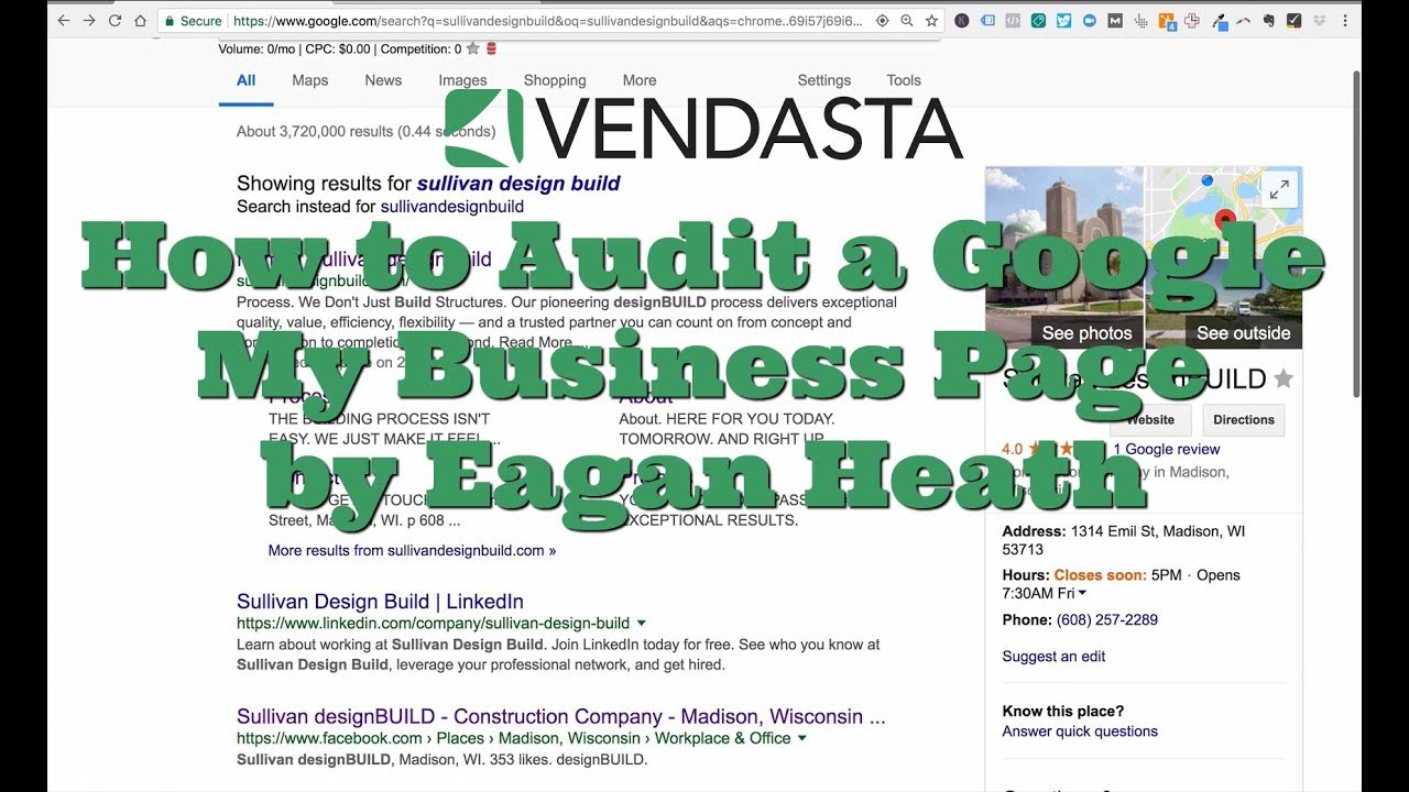 how to find my google business page without verification