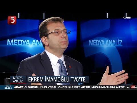 Ekrem İmamoğlu - Yıldıray Oğur - Medya Analiz - 24.05.2019