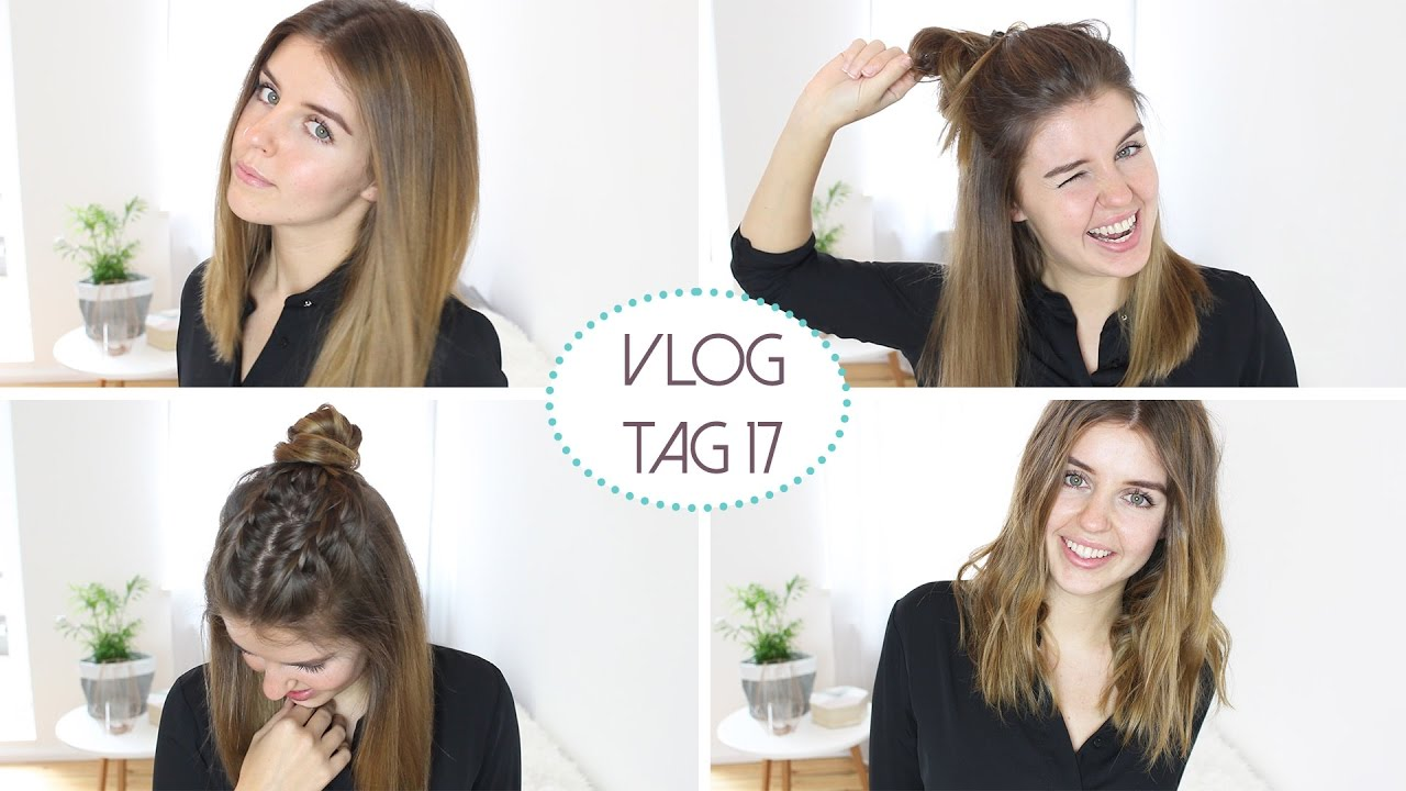 4 Tolle Frisuren Fur Einen Long Bob Daily Vlog 17 Frisurenfreitag Lovethecosmetics