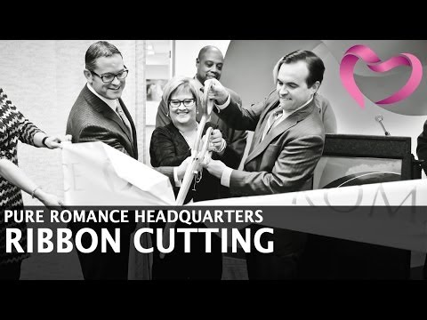 Pure Romance Grand Opening In Downtown Cincinnati - Valentine's Day 2014