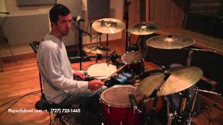 Drum/Percussion Lessons - Patterns of 3 On the Ride Cymbal - The Players School of Music