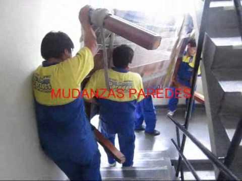 Mudanzas paredes traslado de muebles por la escalera - Como subir muebles por escalera caracol ...