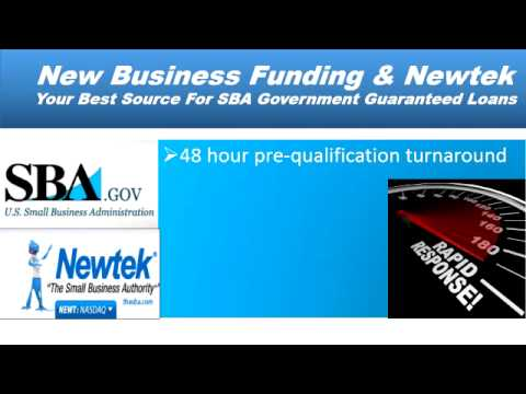 Funding New Business & Newtek Provide SBA Loans
