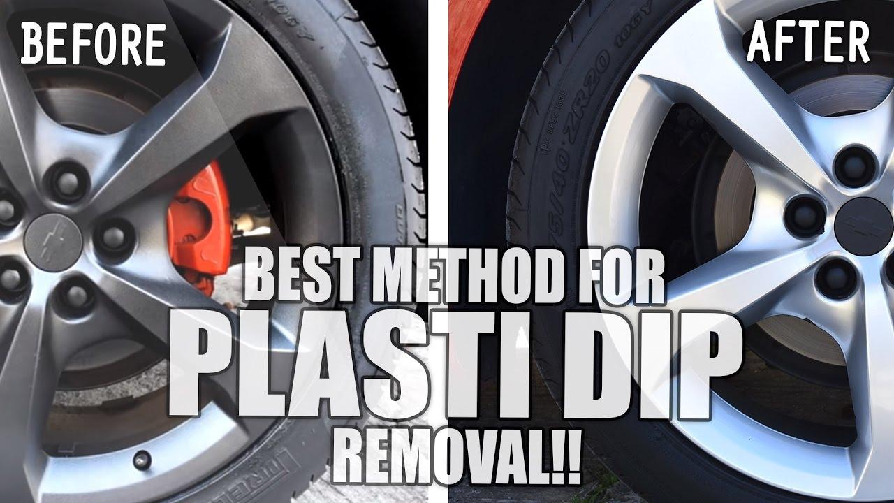 how to remove plasti