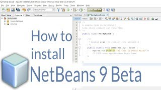 How to install Netbeans 9  Beta version on windows!