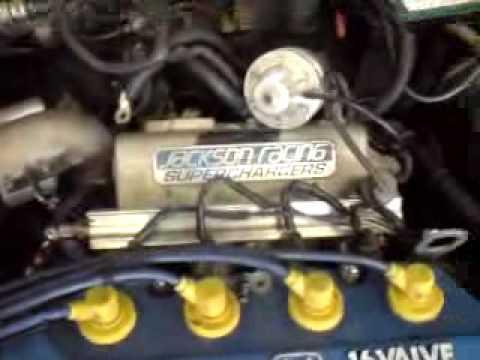Jackson racing superchager install  pt1