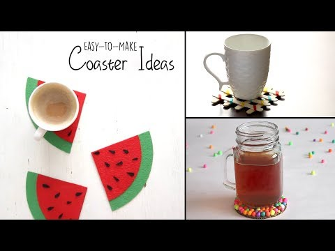 DIY Coaster Ideas
