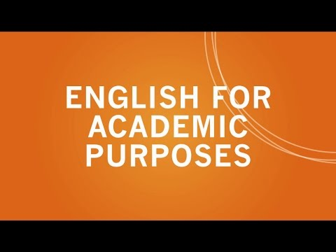 Learn English for Academic Purposes