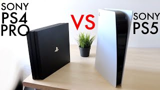 PlayStation 5 Vs PlaySтation 4 Pro! (Comparison) (Review)