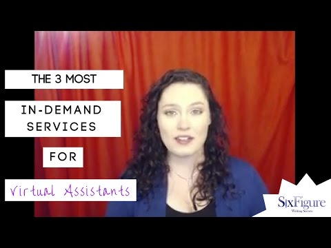 The 3 Most In-Demand Services for Virtual Assistants