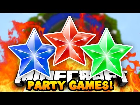 "Minecraft PARTY GAMES ""THE PARTY GAMES KING"" #13 w/ The Pack!"