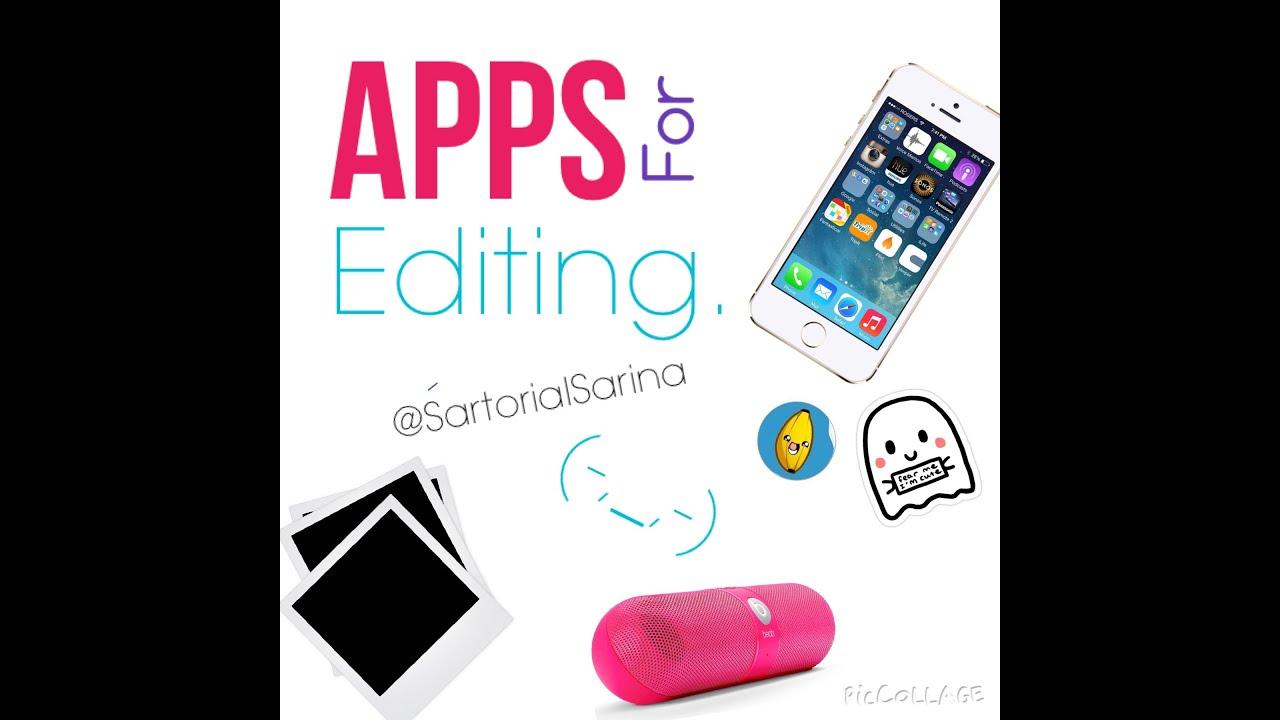 Editing Apps for Tumblr Videos! |SartorialSarina