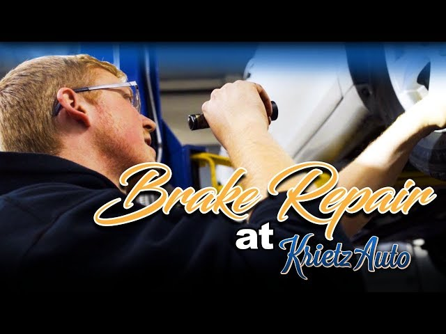 Brake Repairs At Krietz Auto