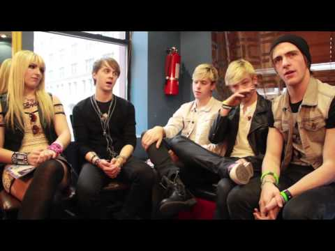 EXCLUSIVE: Backstage with R5!