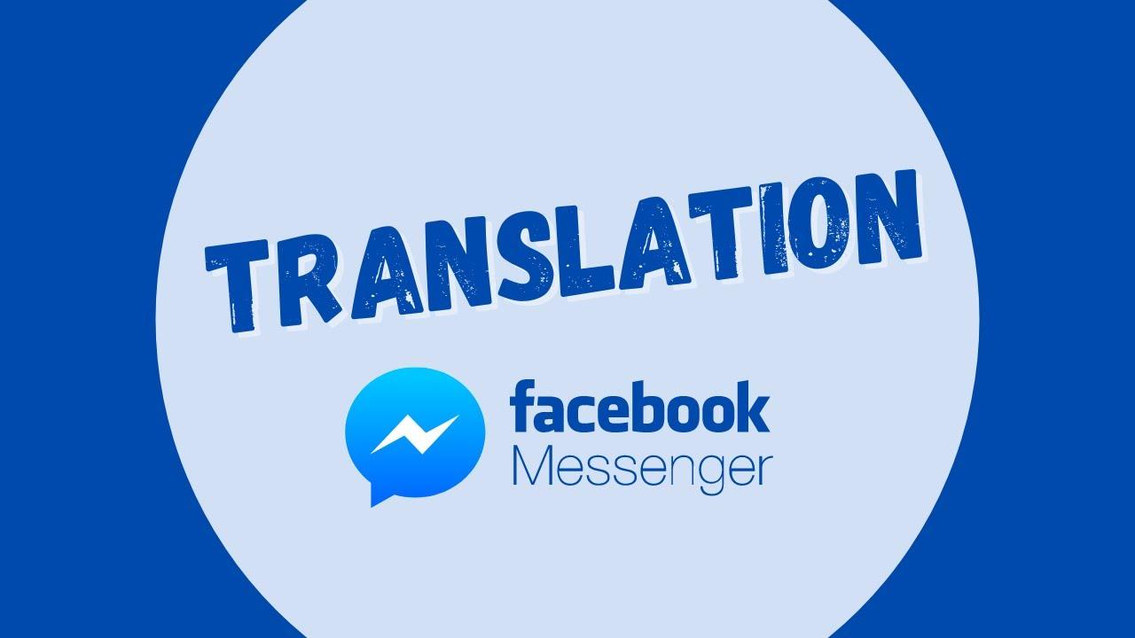 meu messenger do facebook esta em ingles