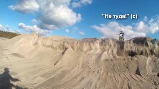 Карелия | Гранитный карьер | Эндуро | Белые столбы