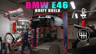 KEIČIAM BMW E46 AUTOMATĄ Į MECHANINĘ GREIČIŲ DĖŽĘ | VLOGAS