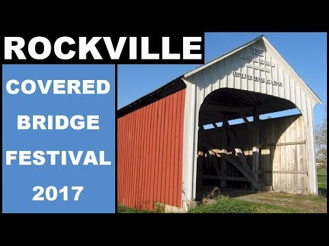 Rockville Indiana & The Parke County Covered Bridge Festival 2017 Kettle Corn Thirty Six Saloon