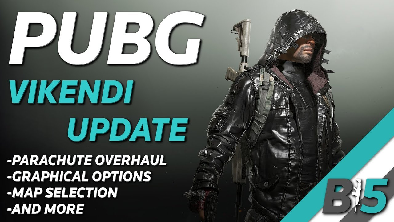 PUBG VIKENDI Update Xbox One/PS4 (1/22) - Parachute Overhaul, New Rank System, Graphical Options!