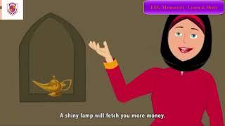 Aladin và cây đèn thần | Chuyện học tiếng Anh