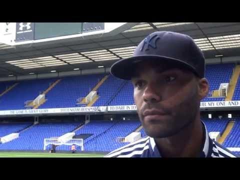 Albion debutant Joleon Lescott reacts to the 1-0 Premier League win over Tottenham Hotspur