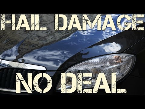 Why Hail Damaged Cars At Salvage Auction Are NOT Worth Rebuilding