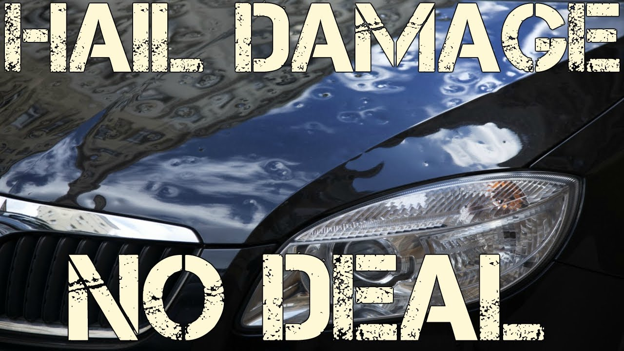 Buying A Car With Hail Damage >> Why Hail Damaged Cars At Salvage Auction Are Not Worth Rebuilding