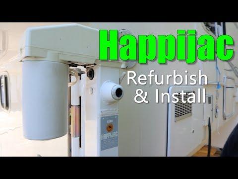 Happijac Refurbish & Install / Truck Camper Electric Jacks