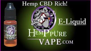 cbd e liquid hemp pure vape promotion