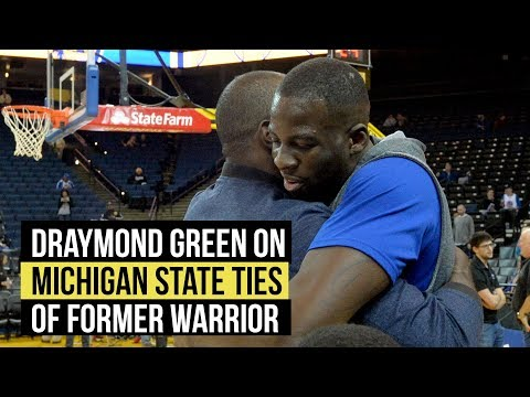 Draymond Green on what Michigan State alum Jason Richardson means to him