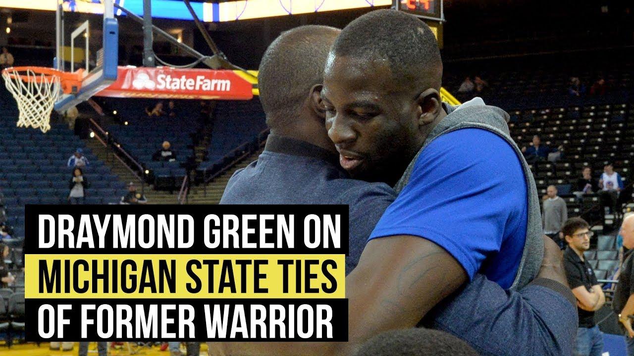 Draymond Green on what Michigan State alum Jason Richardson means to him