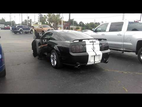 07 mustang cammed with borla exhaust