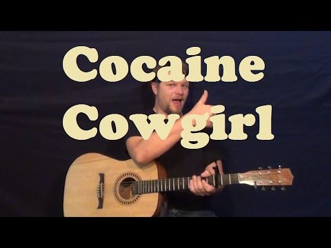 Cocaine Cowgirl (Matt Mays) Guitar Lesson Easy Strum Chords Licks Lead TAB How to Play Tutorial