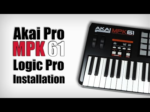 Akai MPK Logic Pro installation