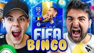 🎱FIFA BINGO con TOTS PREMIER LEAGUE!!! - Enry Lazza vs Tatino | FIFA 19 ITA